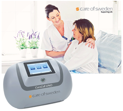 CuroCell UNO medical device